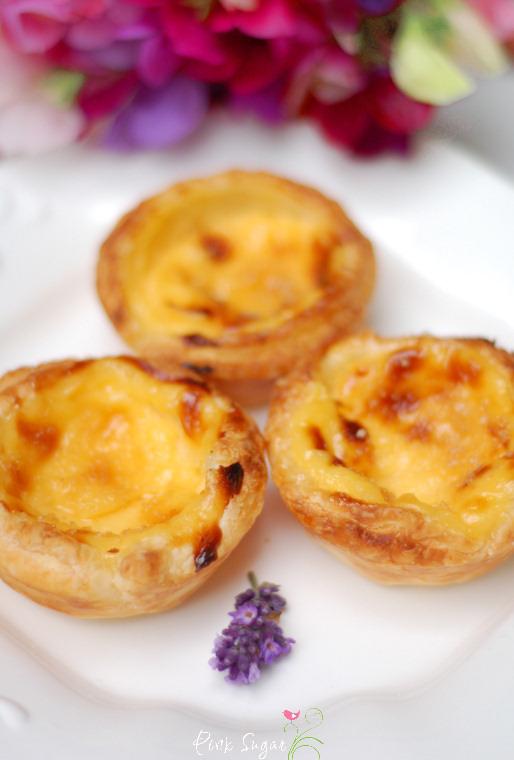 Kessy S Pink Sugar Pasteis De Nata Portugiesische Vanilletortchen