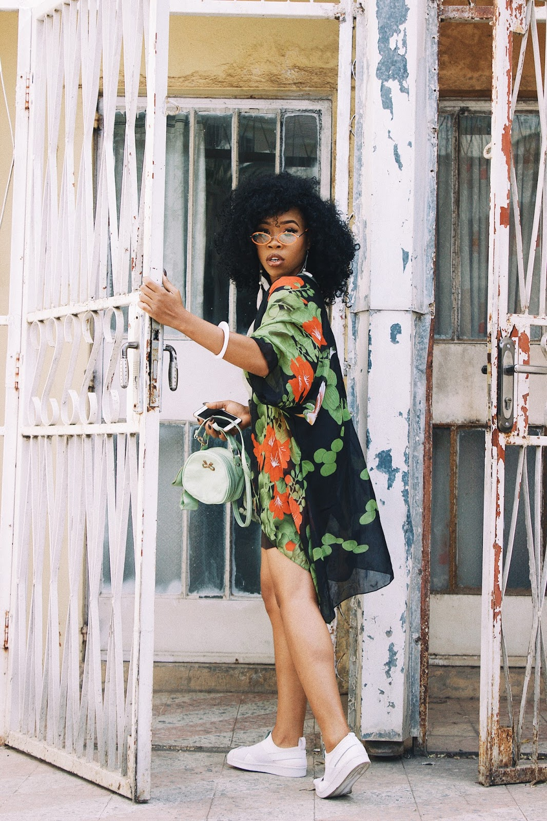 BLACK GIRL IN FLORAL