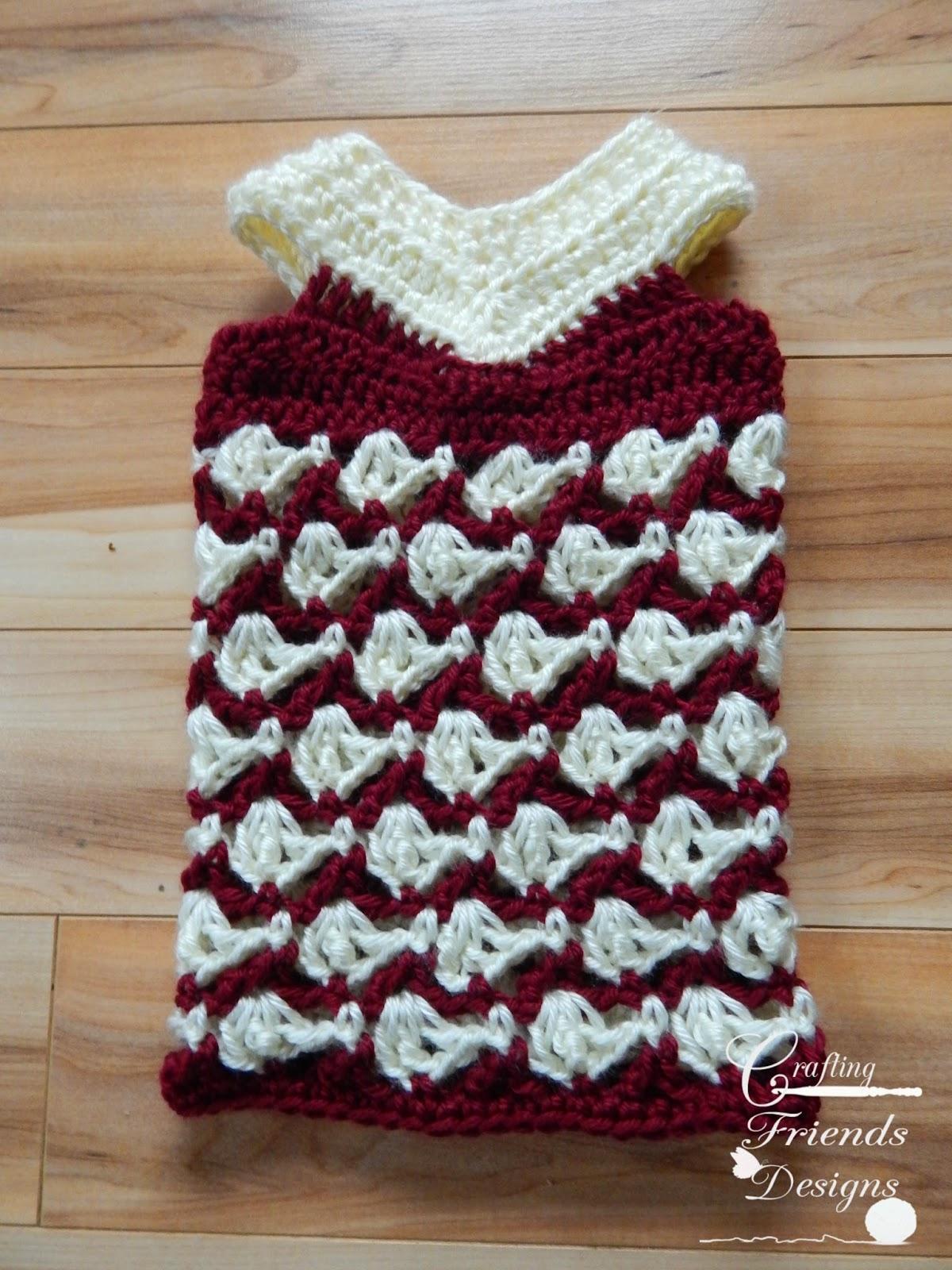 With All My Heart Dress crochet pattern
