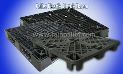Pallet Plastik untuk Mengekspor Produk