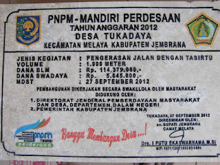 "<img src=""Prasasti Marmer kegiatan PNPM Tukadaya-Melaya -Jembrana.jpg"" alt=""Prasasti Marmer kegiatan PNPM Jembrana Bali"">"