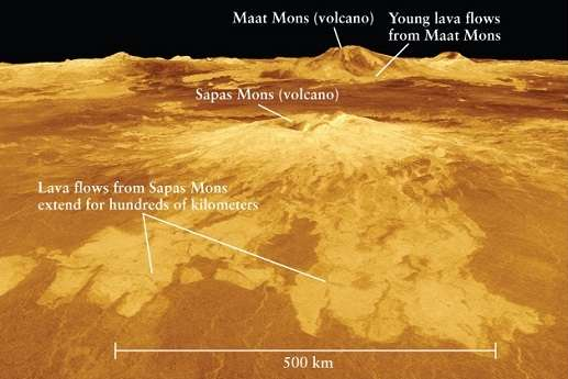 Mystery of rare volcanoes on Venus
