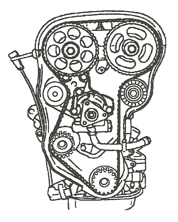 Serpentine Belt Diagram Moreover 2004 Chevy Aveo Timing Belt Diagram