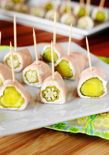 Low-Carb Ham & Pickle Roll-Ups Image