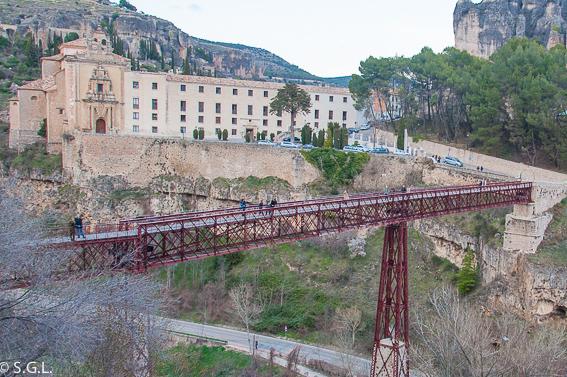 Puente de San Pablo de Cuenca. 10 lugares para visitar en Cuenca