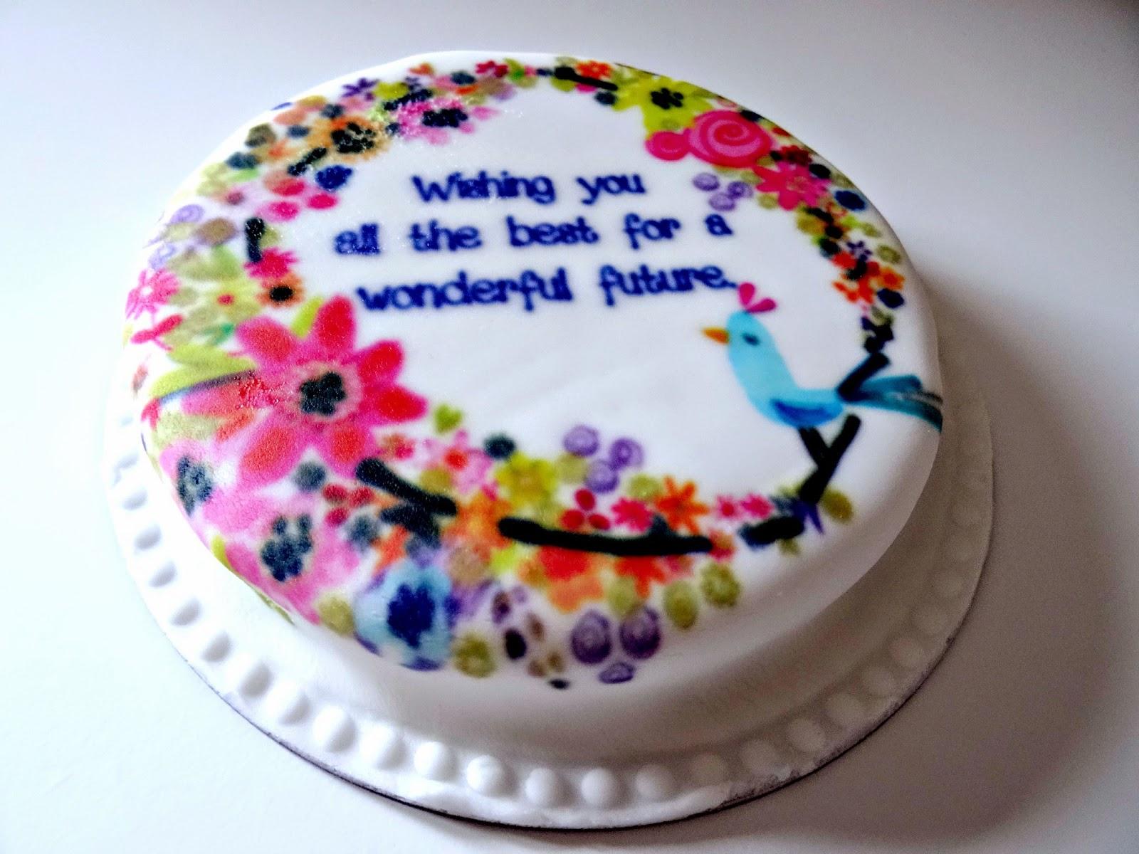 Little Birdie cake Baker Days