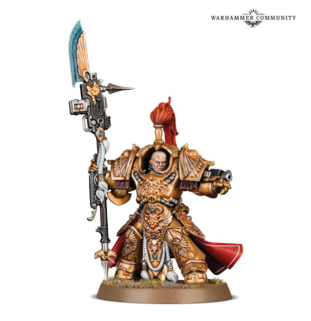 Shield Captain Custodes