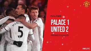 Crystal Palace vs Manchester United 1-2 Video Gol & Highlights