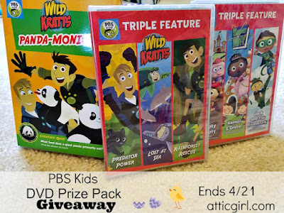 Wild Kratts, Super WHY, giveaway
