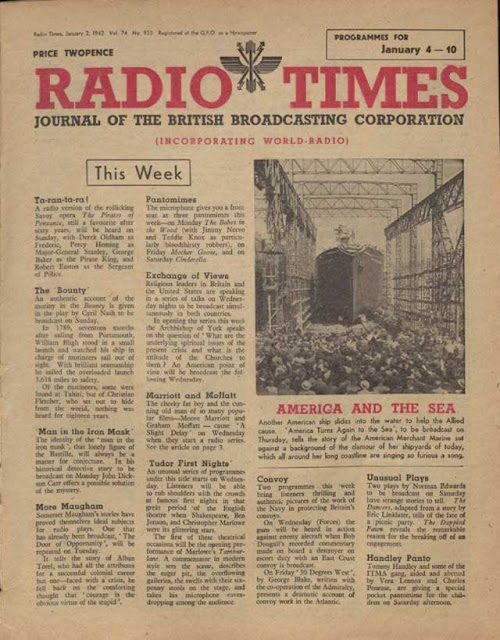 Radio Times, 4 January 1942 worldwartwo.filminspector.com