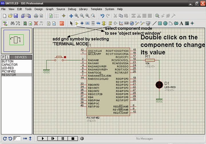 Microcontroller Projects For Beginners: GUIDE TO PROTEUS