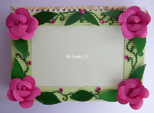 cards crafts kids projects easy diy photoframe tutorial