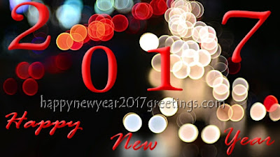 Happy New Year 2017 HD Wish you Photo Greetings
