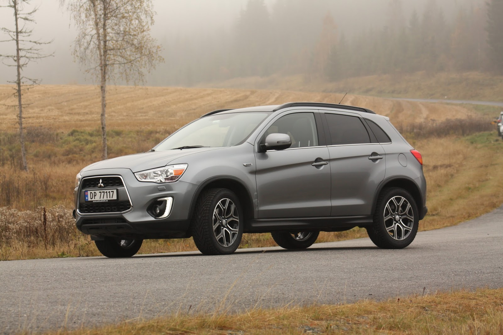 test mitsubishi asx 2 2 150 di d automat instyle bil og motorbloggen. Black Bedroom Furniture Sets. Home Design Ideas