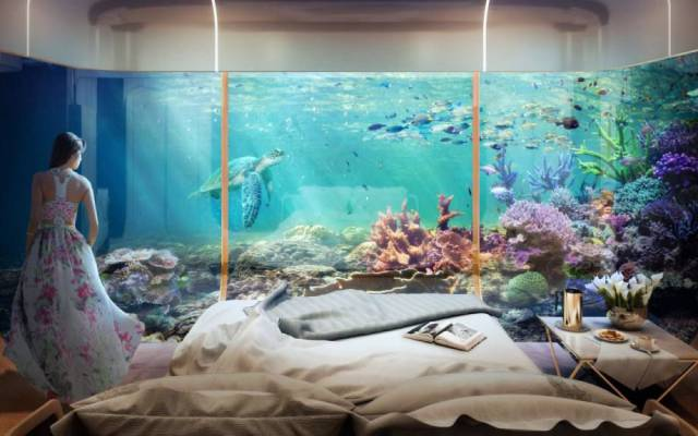 You Can Have A House With An Underwater Room