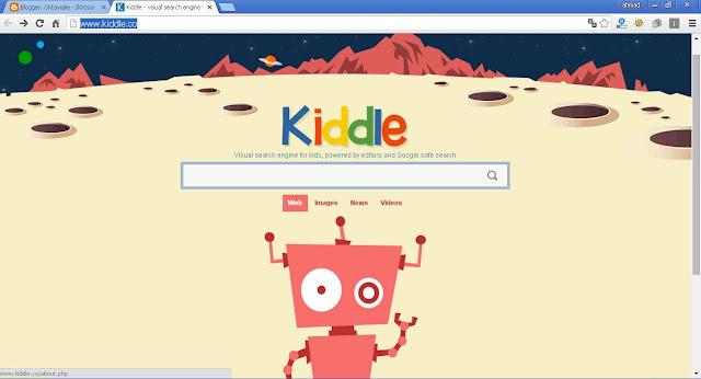 Kiddle, Mesin Pencari Baru Untuk Anak-anak