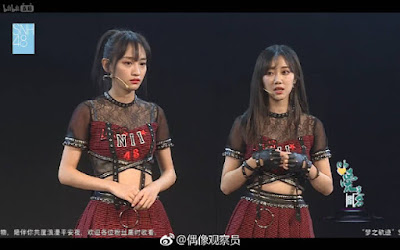 SNH48 Feng Xinduo & Huang TingTing cancel their leader status