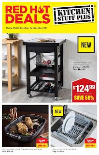 Kitchen Stuff Plus Flyer Red Hot Deals September 18 - 24, 2017