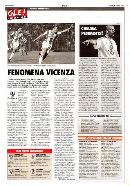 WINNER CUP 1998 FENOMENA VICENZA