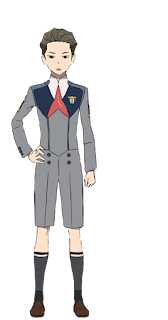 "Code:196 ""Ikuno"" y Code:326 ""Mitsuru"", cuyo FRANXX es Chlorophytum."