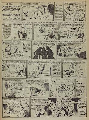 Las fascinantes aventuras de Tallarin Lopez, Pulgarcito nº 44(1947)