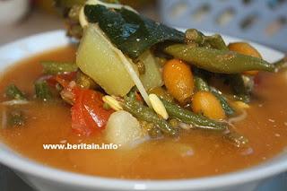Resep Sayur Asem Jawa Timuran