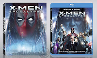 FOX Deadpool Photobombed Blu-rays