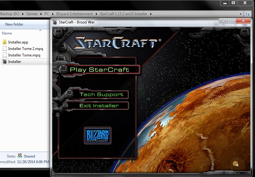 Wanted to download StarCraft, and did it! | Realm of Espionage