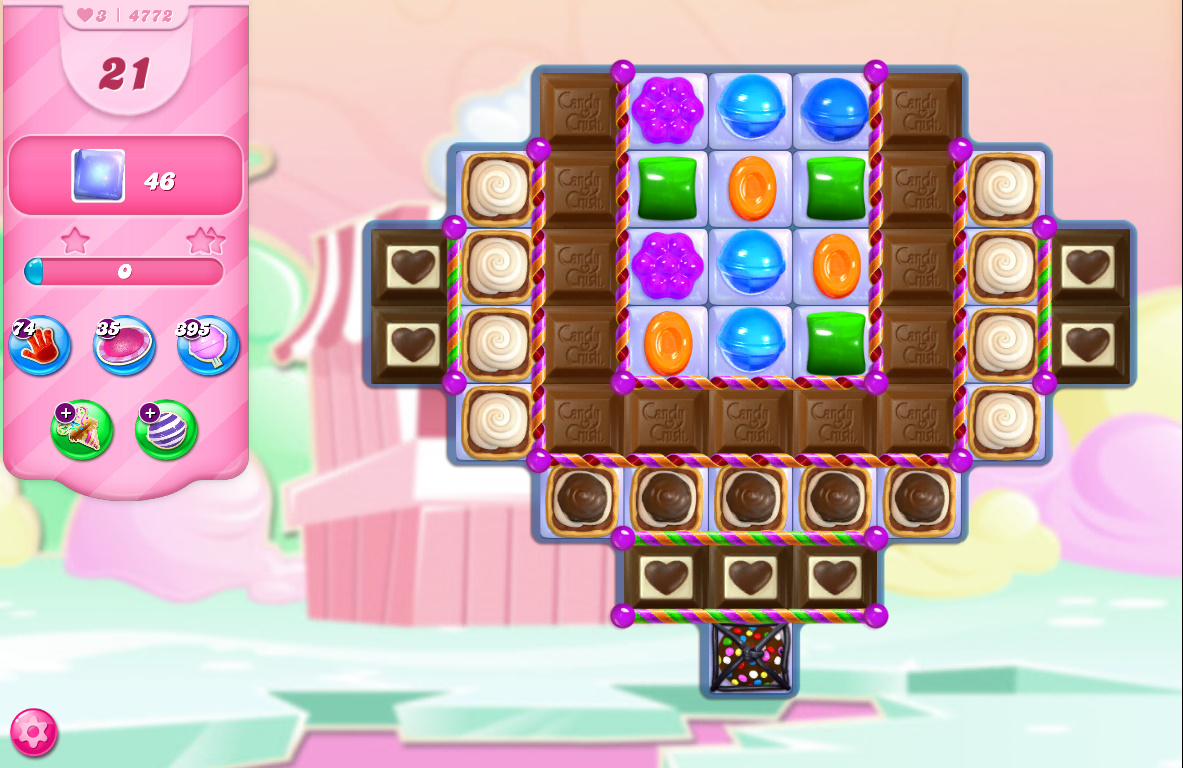 Candy Crush Saga level 4772