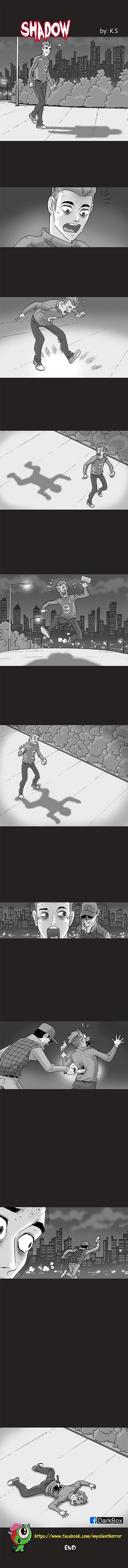 Silent Horror chap 52: Cái bóng