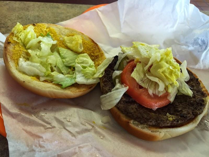 What A Burger at Whataburger