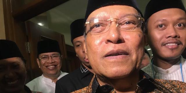 Penjelasan Said Aqil soal kartu anggota NU untuk Prabowo