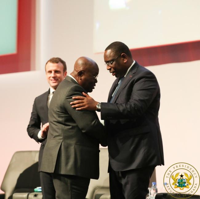 President Akufo-Addo Congratulates President Macky Sall