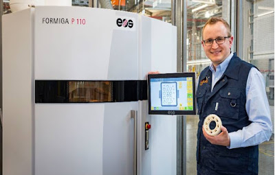 igus provides fast custom parts with SLS for 3D printing services