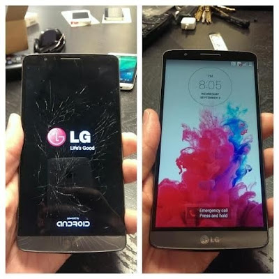 Huong dan thay mat kinh LG G3 don gian