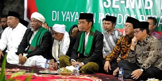 Menangkan Jokowi, Kiai dan Santri se-Indonesia Siap Kembalikan Fungsi Masjid