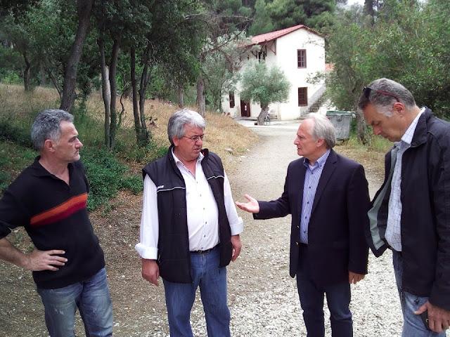 Επίσκεψη Ανδριανού στην Εφορεία Αρχαιοτήτων Αργολίδας και στους αρχαιολογικούς χώρους Μυκηνών, Επιδαύρου και του Παλαμηδίου