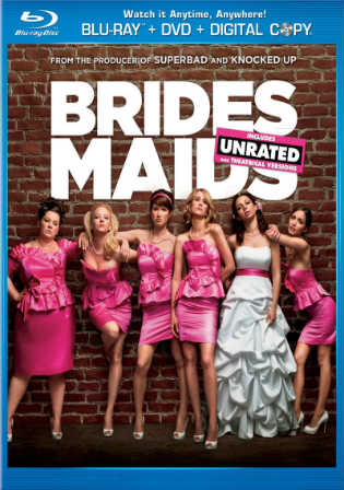 Bridesmaids 2011 BluRay 400Mb Hindi UNRATED Dual Audio 480p Watch Online Full Movie Download bolly4u