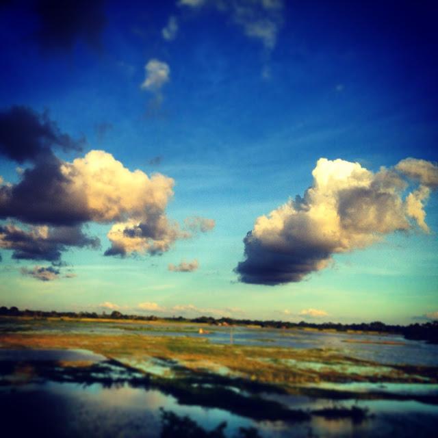 Clouds look like UFO