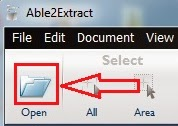 ab2extract open file