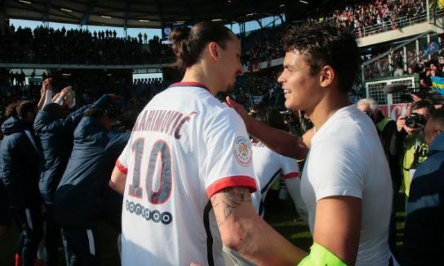 Ibrahimovic ke MU, Thiago Silva Tidak Setuju