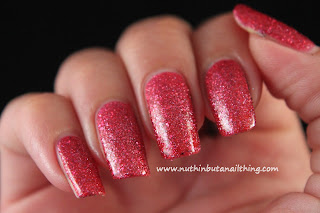 Etude House - Ruby Red Sand - Matte Sand Glitters