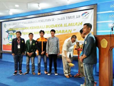 UKM FOKUS berpartisipasi pada acara  Temu Ilmiah UKM Penalaran dan Penelitian Se-Jawa Timur ( TIUPPS )