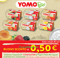 Logo Granarolo: buono sconto yogurt Yomo Bio