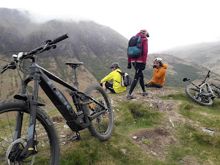 GeoWeekers explored Lochaber geopark by e-bike to learn about the formation of Glen Nevis, and its surrounding hills, during periods of mountain building, fire and ice.