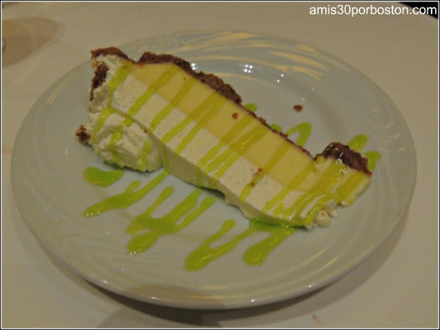 Menú Dine Out Fogo De Chao: Key Lime Pie