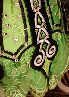 irish dance dress close up 1