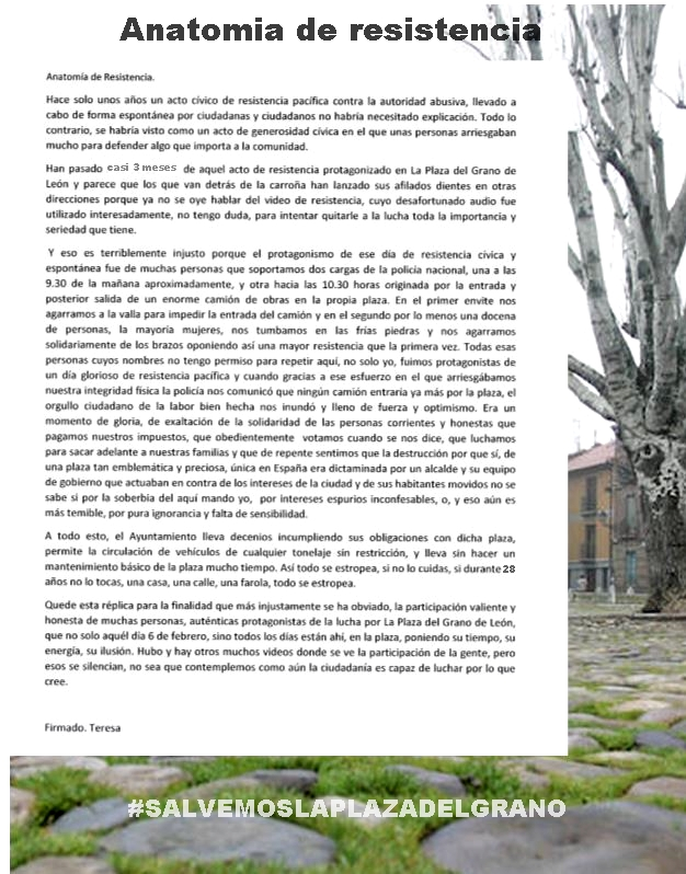 Plataforma Salvemos la Plaza del Grano: EL CANTAZO: ANATOMÍA DE ...