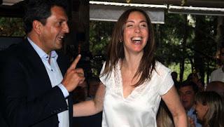 Vidal se mostró con el ex actor Segundo Cernadas. También estuvieron Triaca y Garavano. El último timbreo llevó a referentes de Macri a barrios humildes de ese distrito.