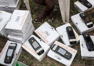 INEC REPLACED I98 SMART CARD READERS IN AKWA IBOM